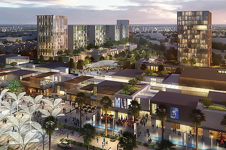 ThePulse Dubai South - Projects Map