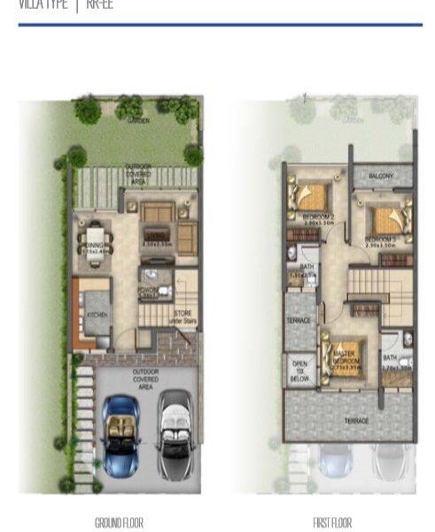 RR EE 491x600 - Akoya Selfie Floor Plan