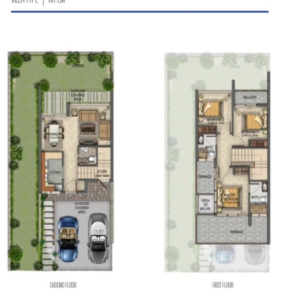 RR EM 584x600 - Akoya Selfie Floor Plan