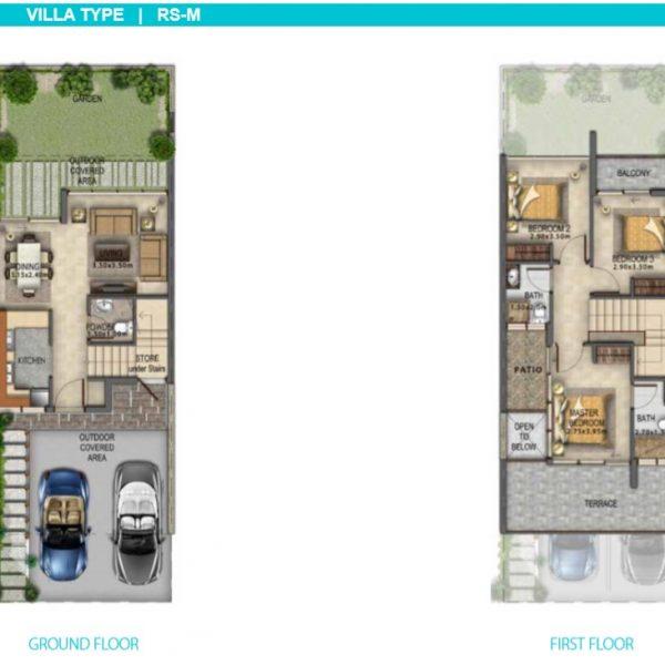 2 RS M 600x600 - Manarola Akoya Oxygen Floor Plans