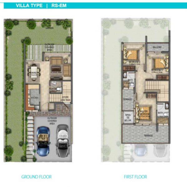 3 RS EM 600x600 - Manarola Akoya Oxygen Floor Plans