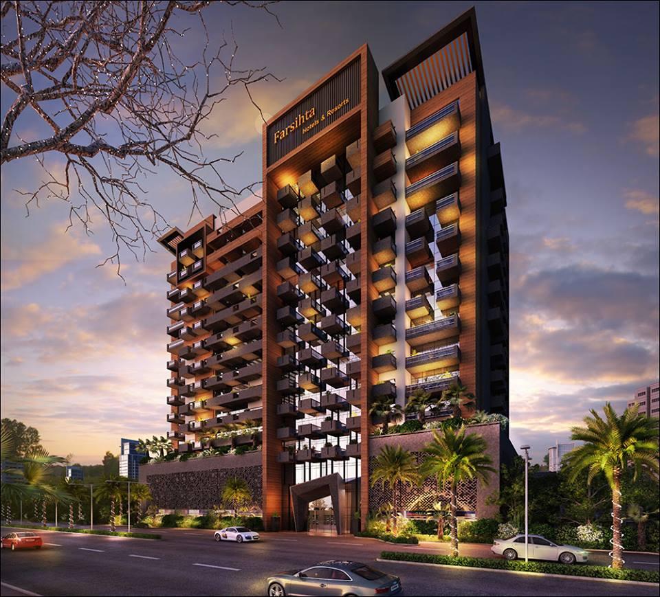 Farishta Azizi Residence Apartments in Al Furjan