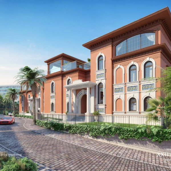 Renderings page 002 600x600 - XXII CARAT Palm Jumeirah Photo Gallery
