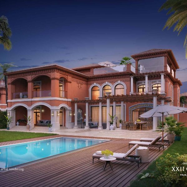 Renderings page 003 600x600 - XXII CARAT Palm Jumeirah Photo Gallery