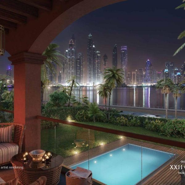 Renderings page 008 600x600 - XXII CARAT Palm Jumeirah Photo Gallery