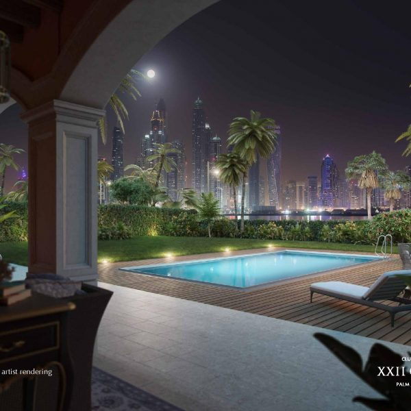 Renderings page 009 600x600 - XXII CARAT Palm Jumeirah Photo Gallery