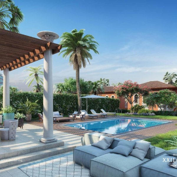 Renderings page 018 600x600 - XXII CARAT Palm Jumeirah Photo Gallery