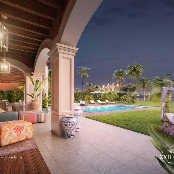 Renderings page 019 600x600 - XXII CARAT Palm Jumeirah Photo Gallery
