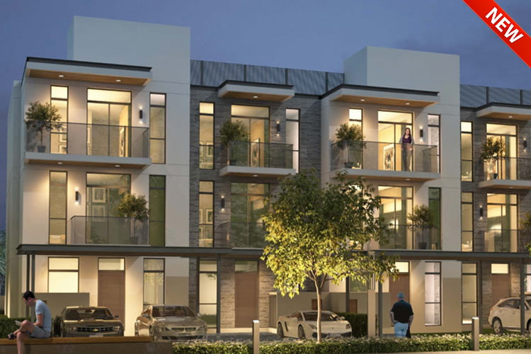Quad Homes Dubai - Projects Map