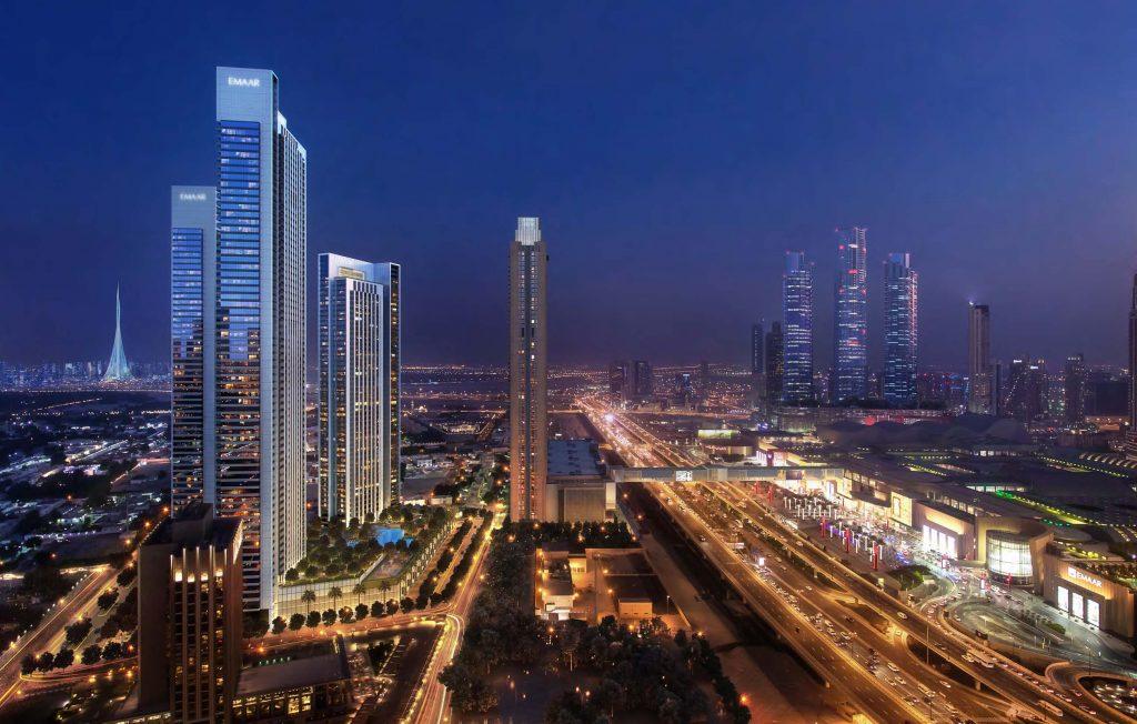 bg3 1 1024x652 - Downtown Views II By Emaar in Downtown Dubai
