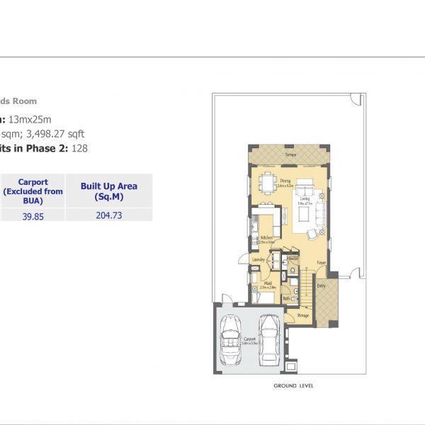 villa 1 600x600 - Villanova Phase 2 Floor Plans