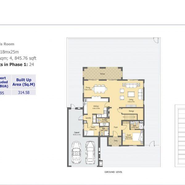 villa 3 600x600 - Villanova Phase 2 Floor Plans
