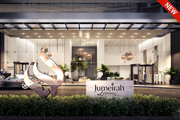 Jumeirah Living Marina Gate - Projects Map