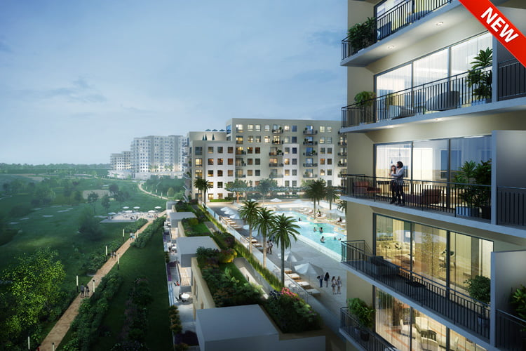 golf view emaar south 1 - Projects Map