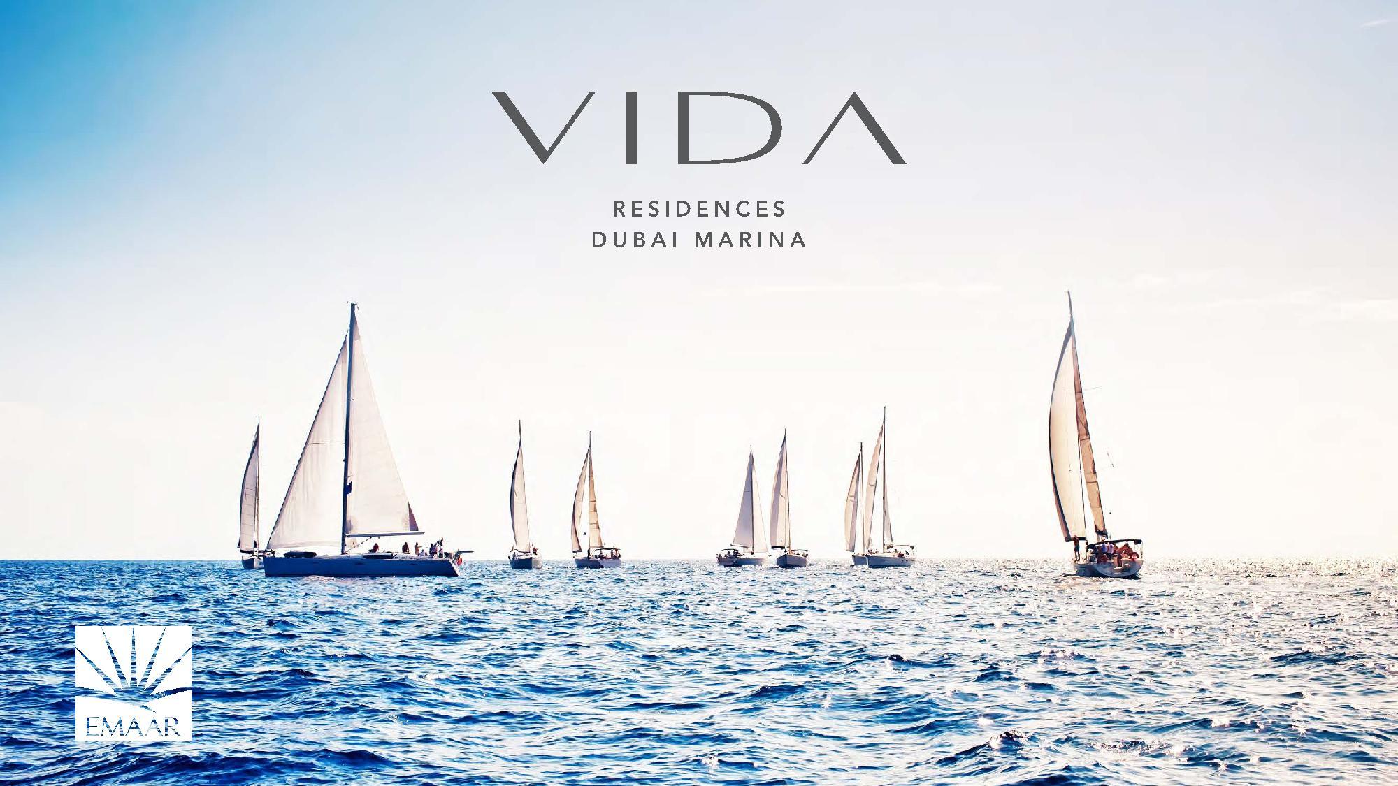 Vida Residences Brochure page 001 - Photo Gallery - Vida Residences Dubai Marina
