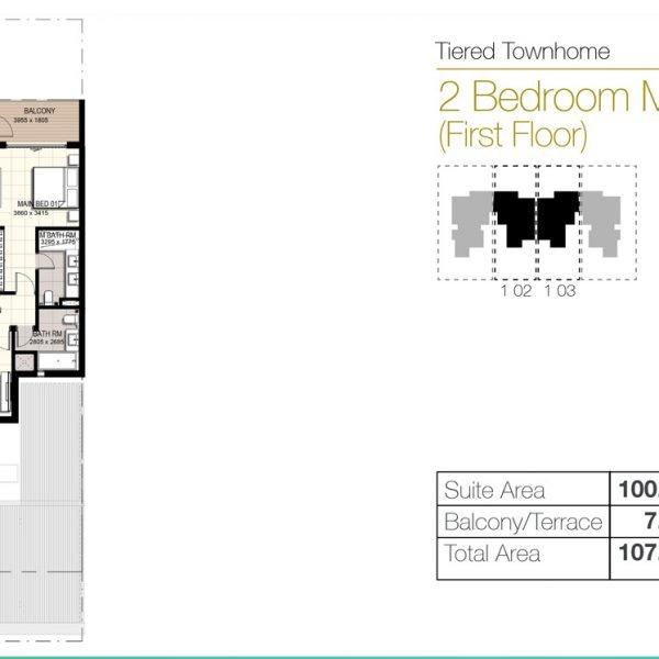 f1 600x600 - Urbana III - Floor Plans