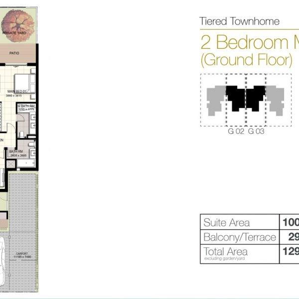 f2 600x600 - Urbana III - Floor Plans