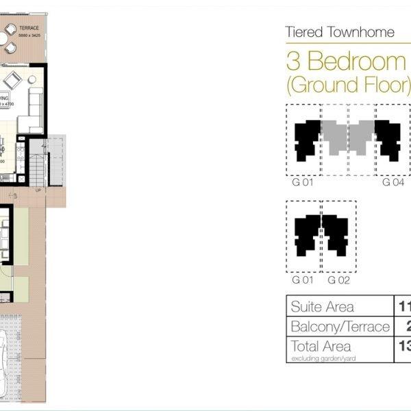 f4 600x600 - Urbana III - Floor Plans