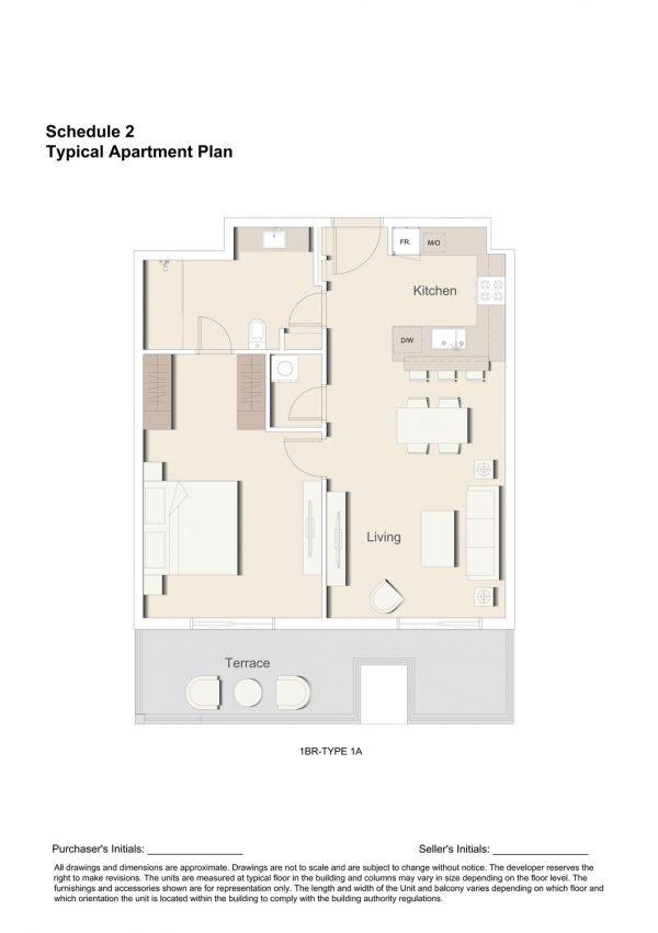 1BR TYPE 1A 1 600x850 - Floor Plans - Eaton Place By Ellington