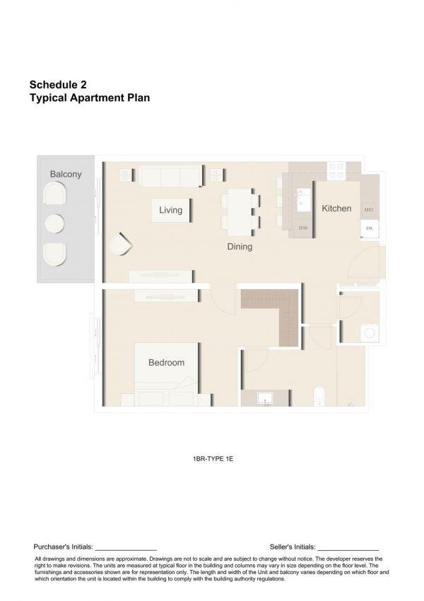 1BR TYPE 1E 1 600x850 - Floor Plans - Eaton Place By Ellington