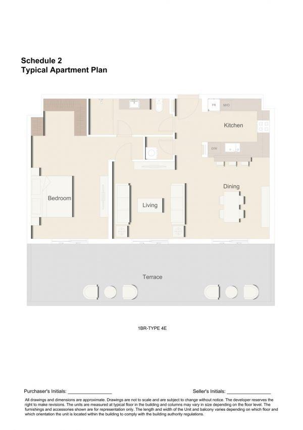 1BR TYPE 4E 1 600x850 - Floor Plans - Eaton Place By Ellington