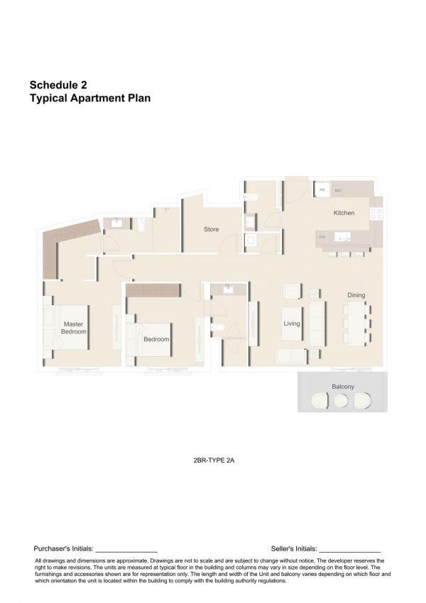 2BR TYPE 2A 1 600x850 - Floor Plans - Eaton Place By Ellington