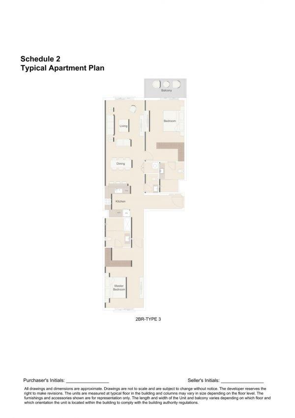 2BR TYPE 3 1 600x850 - Floor Plans - Eaton Place By Ellington