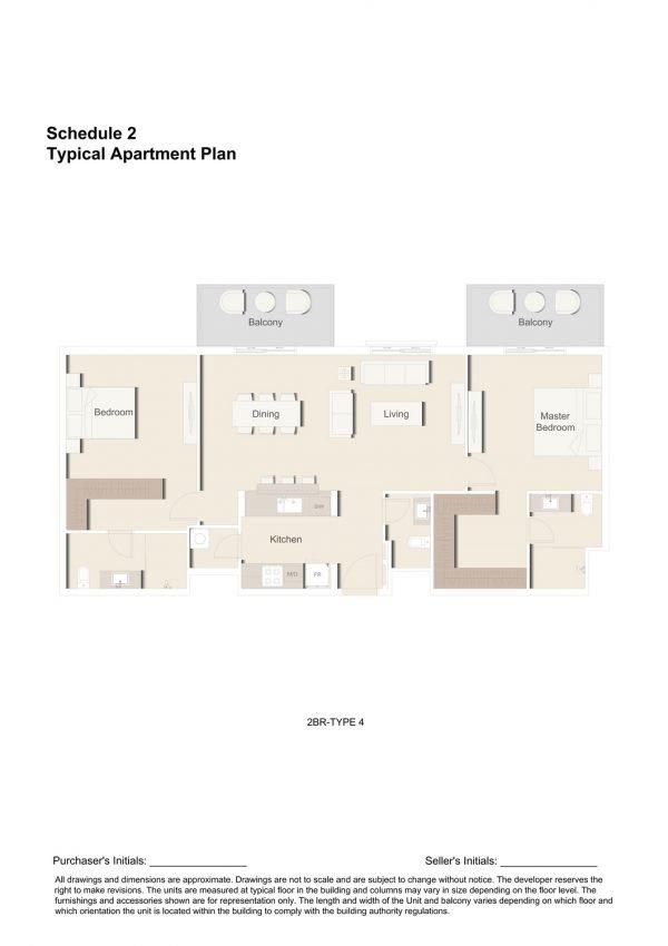 2BR TYPE 4 1 600x850 - Floor Plans - Eaton Place By Ellington