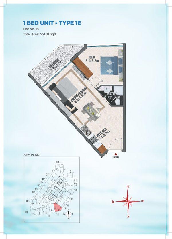 Bayz by Danube 39 600x831 - Floor Plans - Bayz By Danube