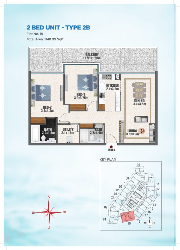 Bayz by Danube 41 600x831 - Floor Plans - Bayz By Danube