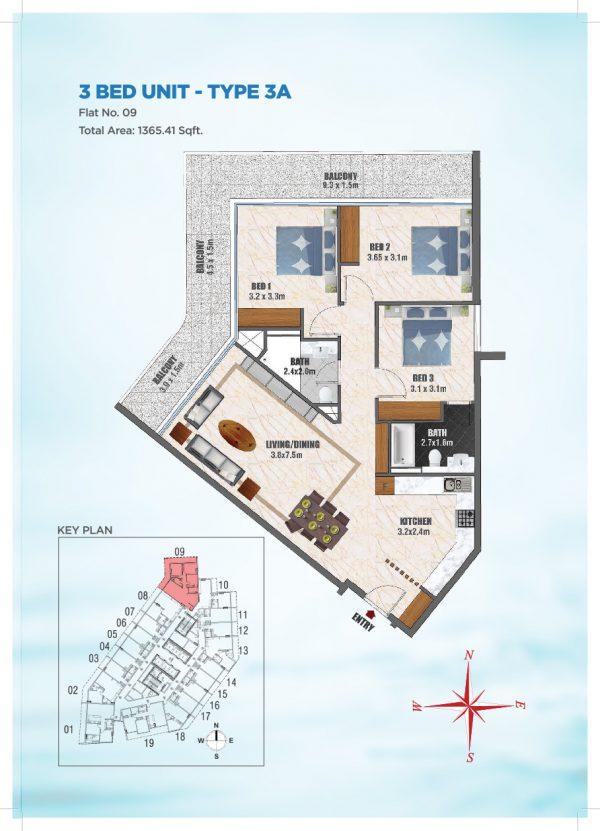 Bayz by Danube 42 600x831 - Floor Plans - Bayz By Danube