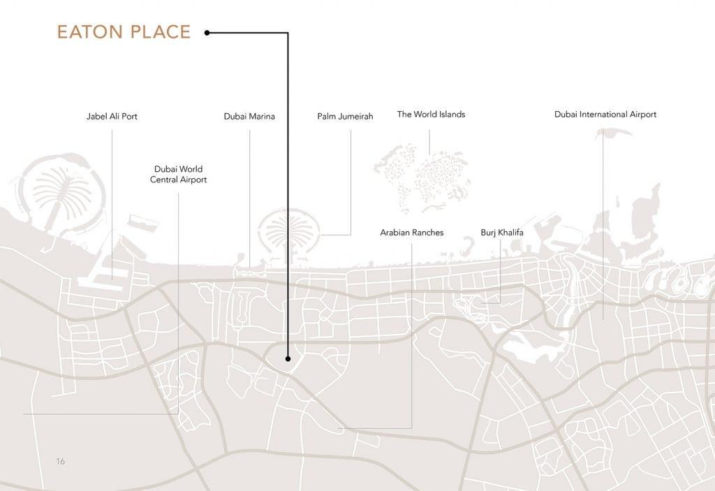 Ellington Eaton location map 1024x703 - Location Map - Eaton Place By Ellington
