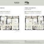 RAWDA Apartments 3BR 150x150 - Floor Plans - RAWDA Apartments