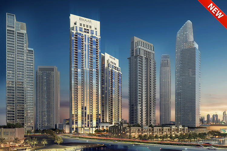 Creek Rise at Dubai Creek Harbour by Emaar
