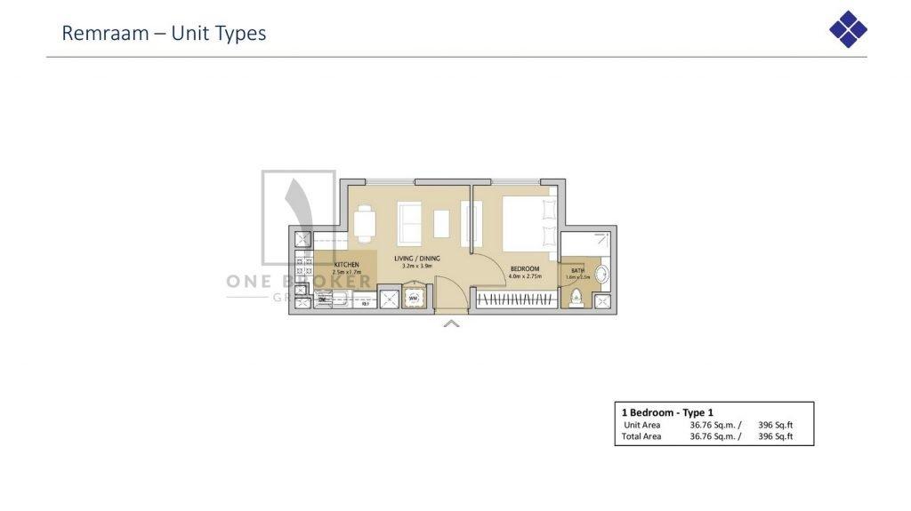 Remraam page 009 1024x575 - Remraam Dubailand - Floor Plans
