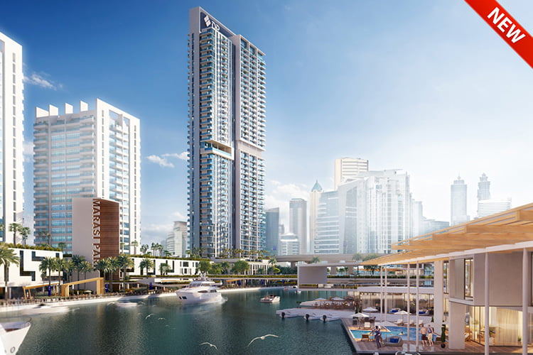 Marasi Riverside DP - La Vie by Dubai Properties at JBR