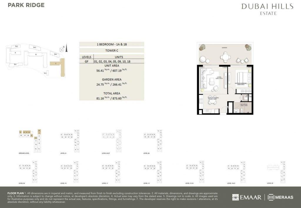 Park Ridge Brochure page 014 1024x706 - Park Ridge - Floor Plans