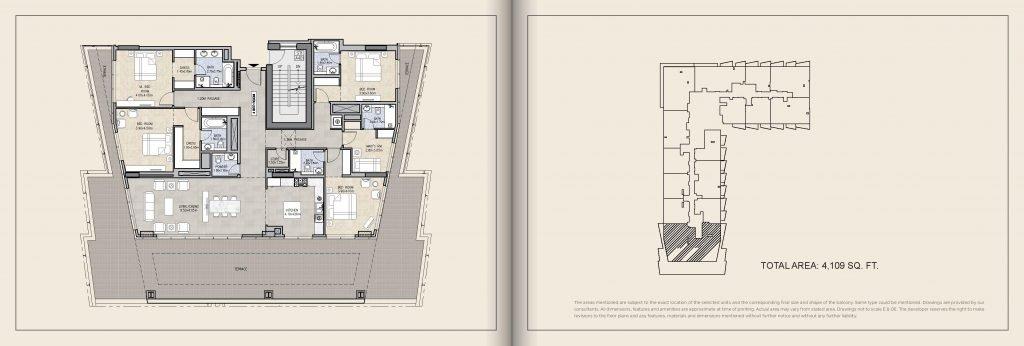 Royal Pearls Brochure page 029 1024x346 - Royal Pearls  - Floor Plans