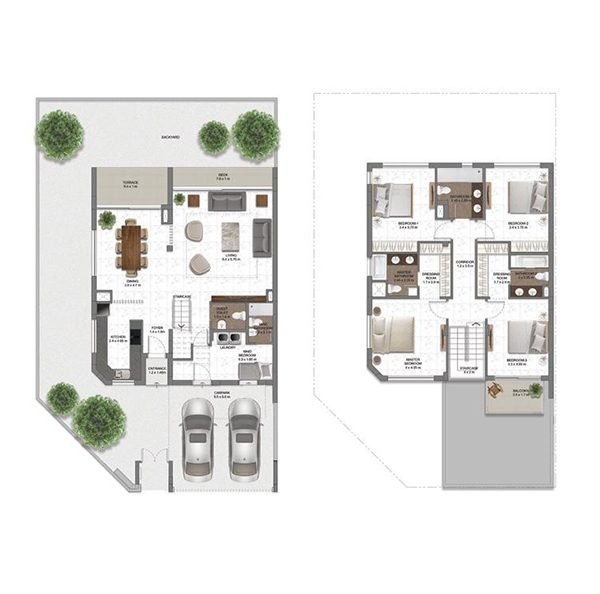 TH TYPE 4C 600x594 - MAG EYE  - Floor Plans
