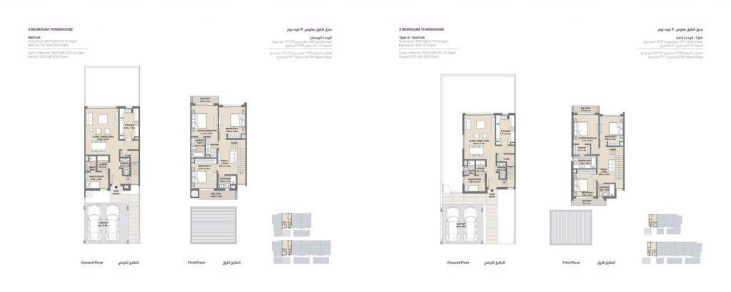 Mudon Arabella Brochure page 016 1024x409 - Arabella 3 - Floor Plans