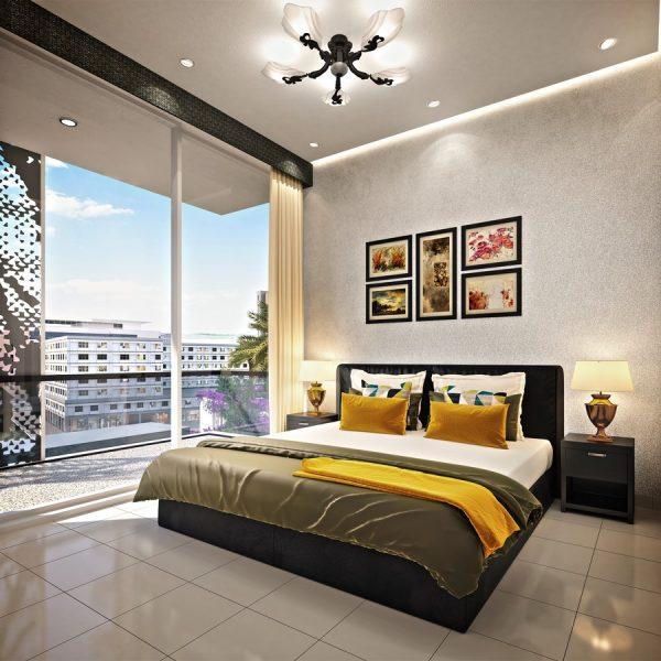 v2 1BR Bedroom HR 600x600 - Jewelz by Danube - Photo Gallery
