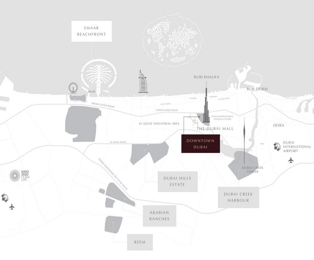 GRANDE location map