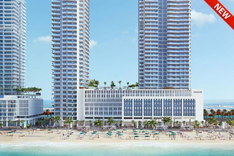 Marina Vista Emaar Beachfront