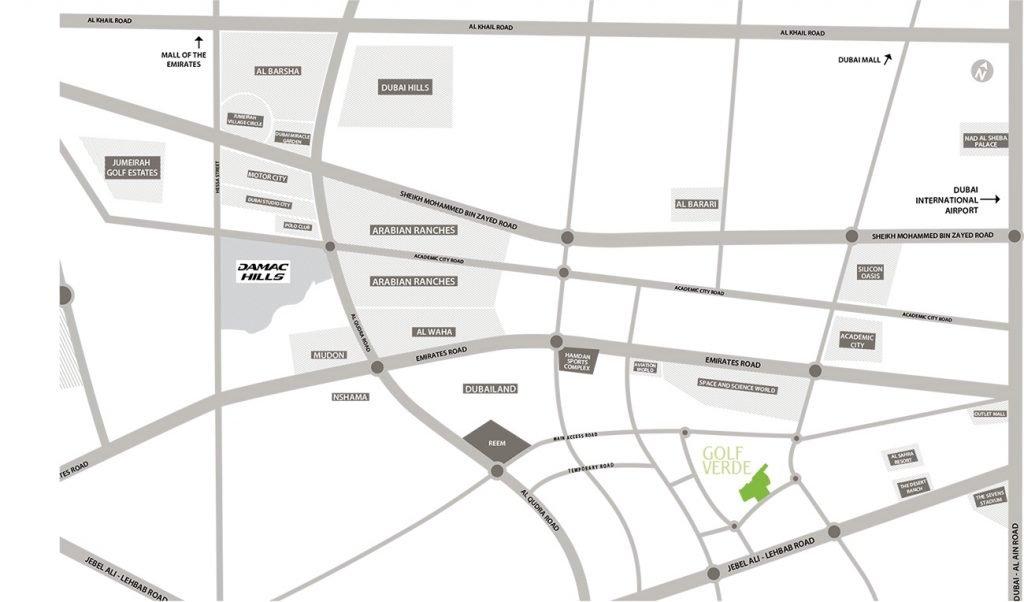 location map Fiora 1024x602 - Fiora at Golf Verde by Damac