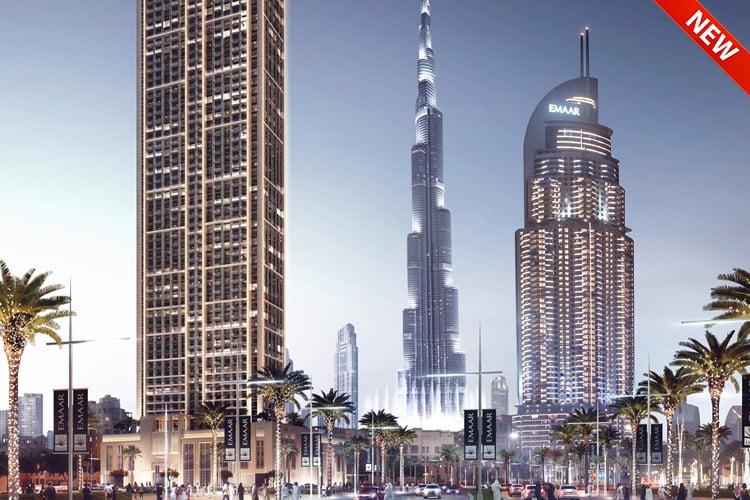 Burj Royale в центре Дубая от Emaar