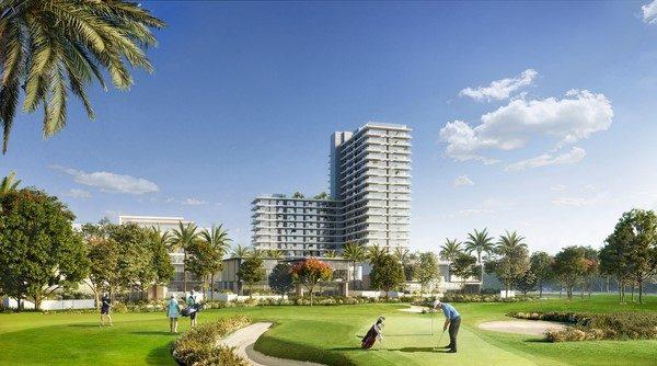 GOLF SUITES 11 600x334 - Golf Suites By Emaar at Dubai Hills Estate