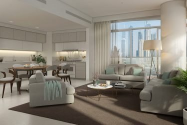 B16 Int Living Room V2 375x250 - South Beach Holiday Homes By Emaar