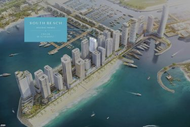 master plan 375x250 - South Beach Holiday Homes By Emaar