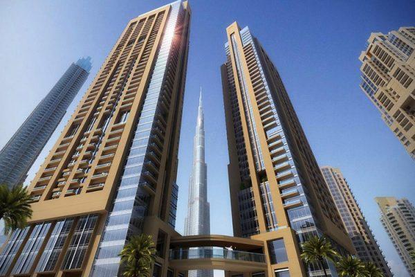 act one act two downtown dubai 600x400 - Home Off Plan Dubai