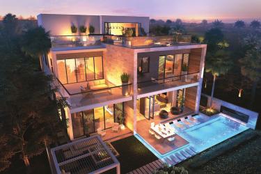 melrose villas 3 375x250 - Melrose Limited Edition Golf Villas by Damac